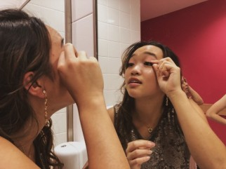 With all the dancing makeup may need a few touches