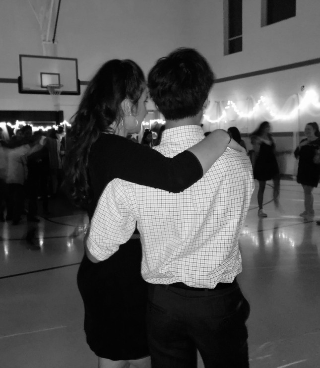 It's always fun to dance with a partner